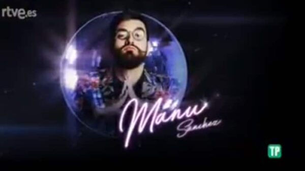 El cómico Manu Sánchez en 'Bailando con las estrellas'