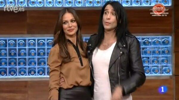 Mario Vaquerizo con Eva González en 'Masterchef'