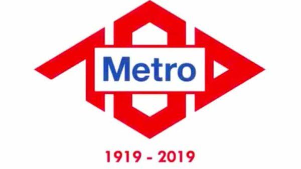 El logotipo ganador para conmemorar los 100 años del Metro de Madrid