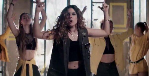 Miriam en el vídeo 'Hay algo en mí'