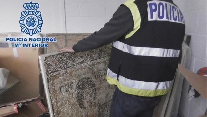 Piezas robadas con las que traficaba Jaume Bagot