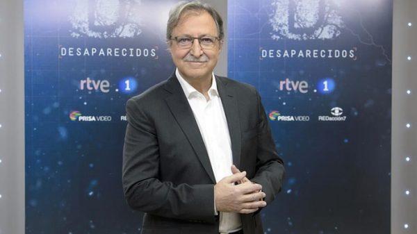Paco Lobatón, director de 'Desaparecidos'