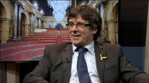 Carles Puigdemont en TV3