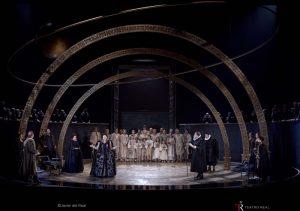 Momento de la ópera 'Gloriana'