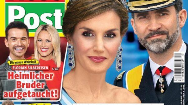 La portada de la revista 'Neue Post'