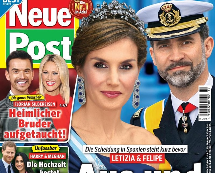 La portada de la revista 'Neue Post'