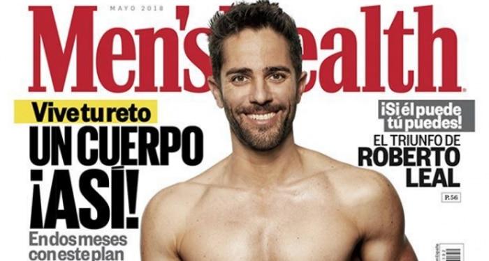 El presentador Roberto Leal en la portada de 'Men's Health'