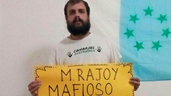 Roberto Mesa en la foto de su perfil de Facebook