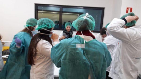Alumnos en el programa 4ºESO+Empresa