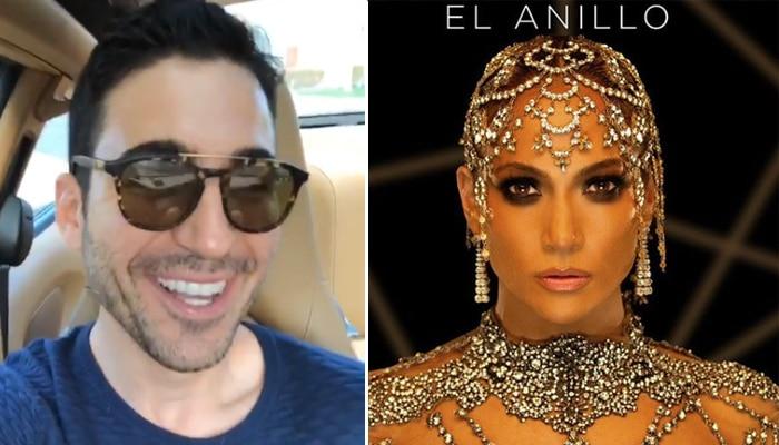 Miguel Ángel Silvestre y Jennifer López