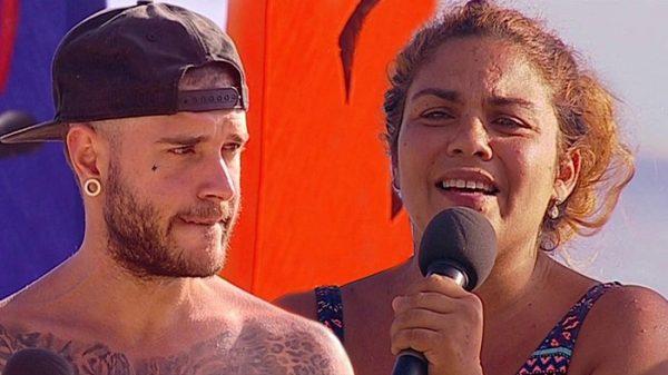 Adrián y Saray en 'Supervivientes'
