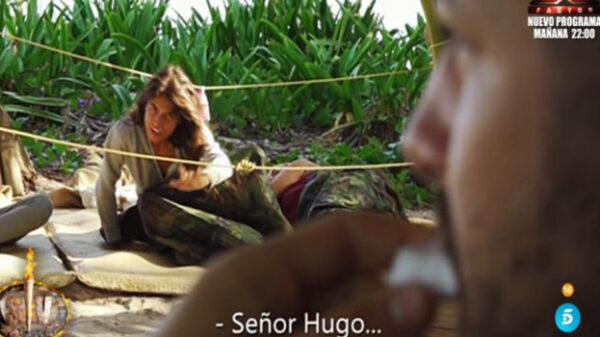 Sofía y Hugo en 'Supervivientes'