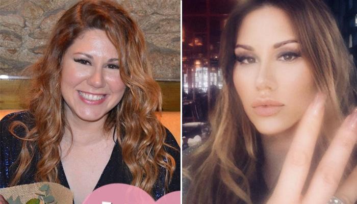 La cantante Tamara antes y después