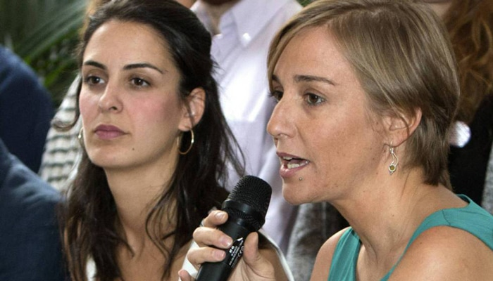 Rita Maestre y Tania Sánchez
