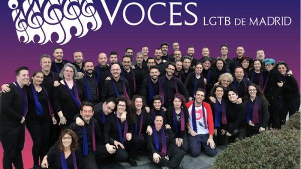 El coro de Voces LGTB de Madrid