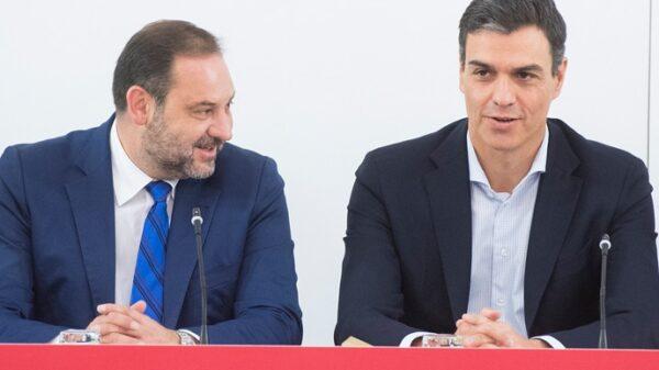 José Luis Ábalos y Pedro Sánchez