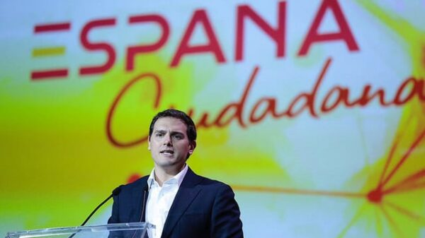 Albert Rivera durante la presentación de España Ciudadana