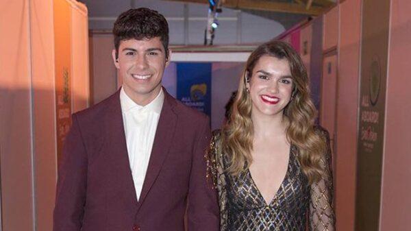 Amaia y Alfred con sus looks para Eurovisión
