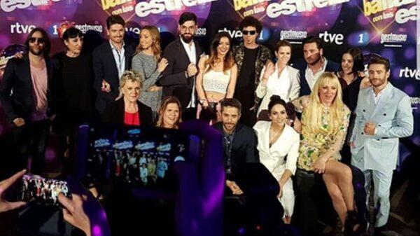 Concursantes, jurado y presentadores de 'Bailando con las estrellas'