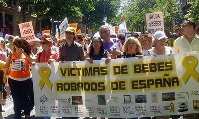 Manifestación por los casos de bebés robados
