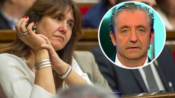 Laura Borràs y Josep Pedrerol