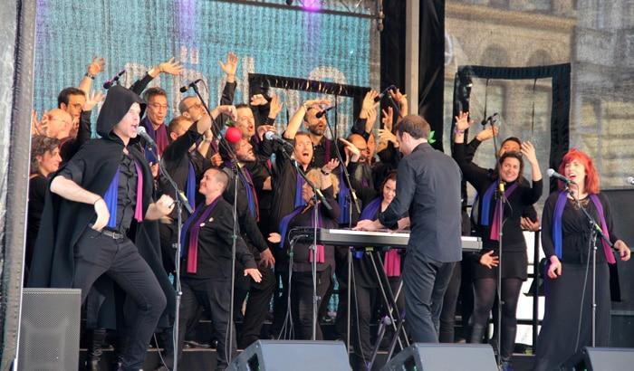 El coro Voces LGTB Madrid