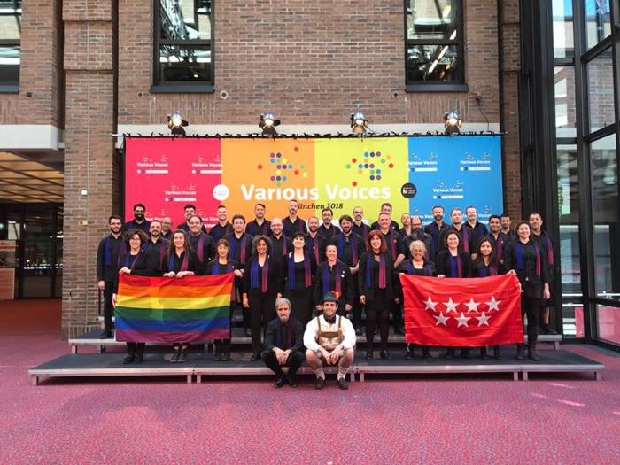 El coro Voces LGTB Madrid en Múnich