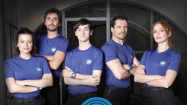 Los protagonistas de 'Cuerpo de élite'