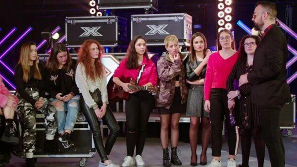 Risto con aspirantes de 'Factor X'