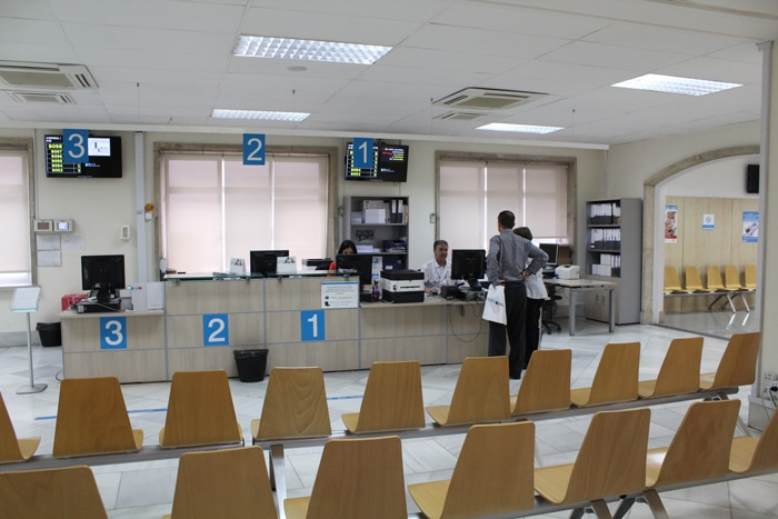 Instalaciones del Centro de Especialidades de Pontones