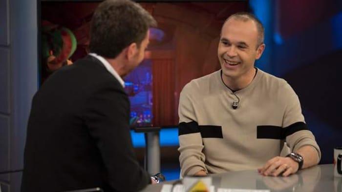 Andrés Iniesta en 'El Hormiguero'
