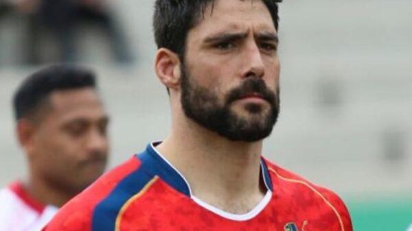 El capitán de la selección de rugby, Jaime Nava