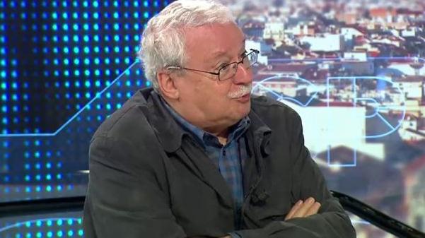 Joaquín Leguina durante la entrevista en 'Espejo Público'
