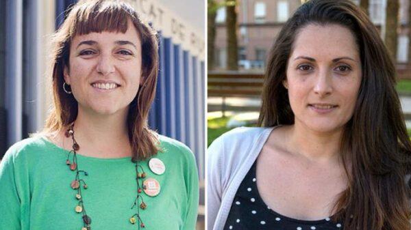Isabel Lozano y Marian Campello