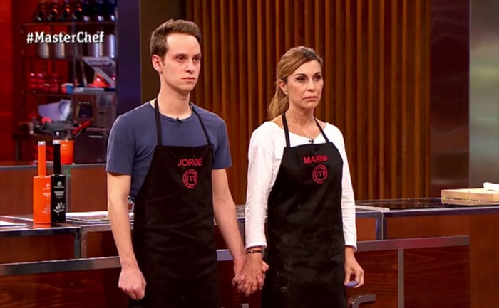 Marina y Jorge en 'Masterchef'