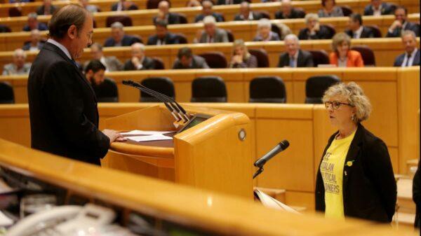 Mireia Cortés, senadora de ERC
