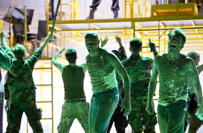 Momento de la ópera 'Die Soldaten' en Zúrich (Foto: Monika Rittershaus)