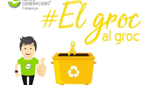 Imagen de la campaña 'El groc, al groc'