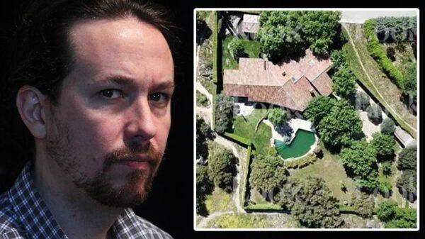 Pablo Iglesias y la casa que ha adquirido