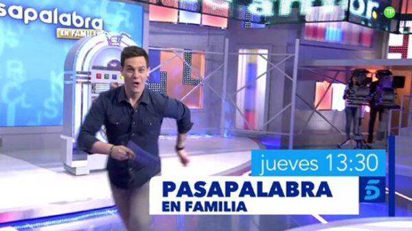 Christian Gálvez en 'Pasapalabra en familia'