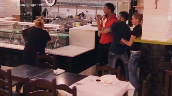 Un momento de 'Pesadilla en la cocina'