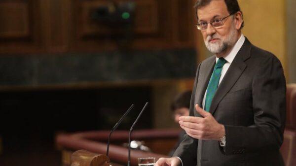 Mariano Rajoy en una de sus intervenciones en la tribuna del Congreso