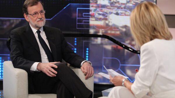 Mariano Rajoy y Susanna Griso durante la entrevista