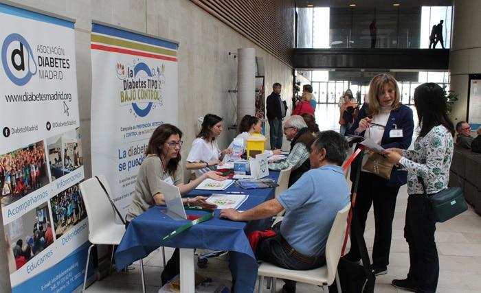 El personal de Enfermería del Rey Juan Carlos que participó en la campaña de salud sexual