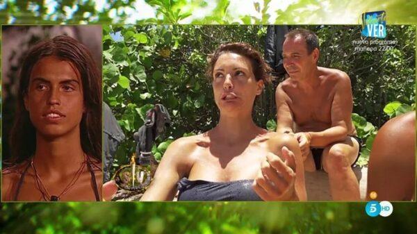Sofía, María Jesús y el Maestro Joao en 'Supervivientes'