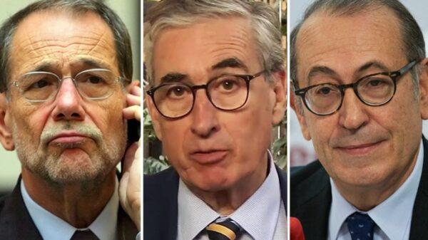 Javier Solana, Ramón Jáuregui y Nicolás Redondo