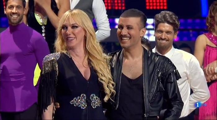 Topacio Fresh y su bailarín, Ibán
