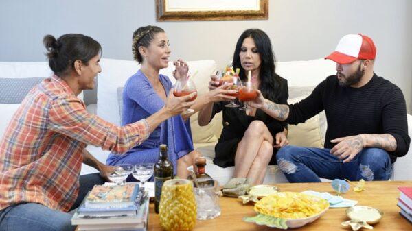 Julio Iglesias Jr, Elena Tablada, Toñi Salazar y Kiko Rivera