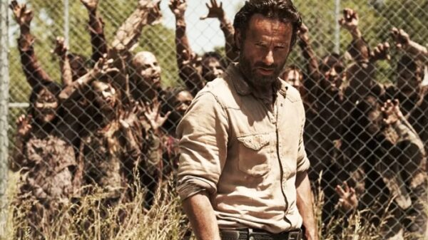 Andrew Lincoln como 'Rick Grimes' en 'The Walking Dead'