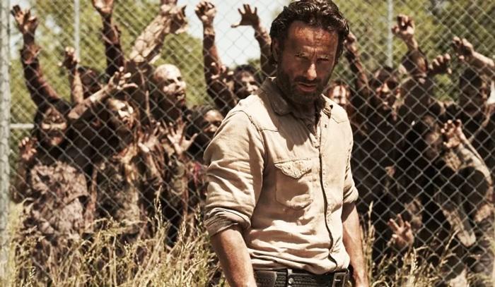 Andrew Lincoln como 'Rick Grimes' en 'The Walking Dead'